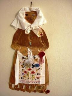 Αποτέλεσμα εικόνας για κυρα σαρακοστη από ζυμη