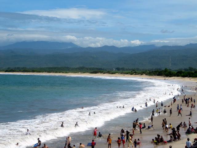 Pantai sentolo garut | wisata pantai jawa barat | pantai di garut | pantai jawa barat | wonderful Indonesia