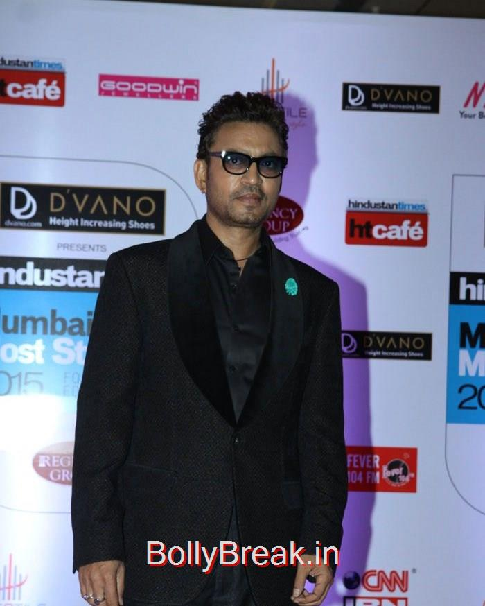 Irrfan Khan, Mumbai's Most Stylish Awards 2015 Full Photo Gallery