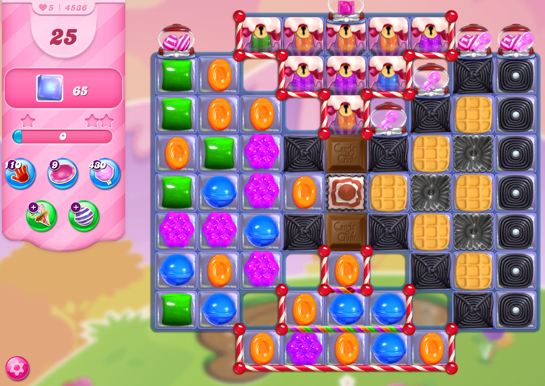 Candy Crush Saga level 4536