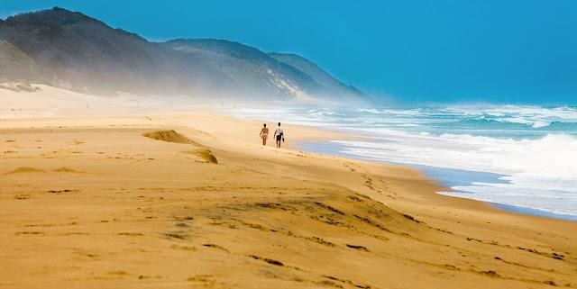 Playa de Cape Vidal, iSimangaliso, Sudáfrica