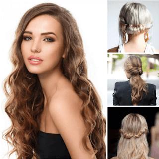 Model rambut panjang keriting