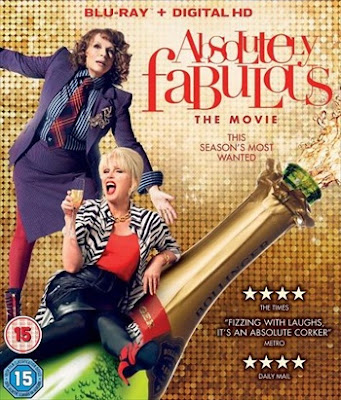 Absolutely Fabulous: The Movie 2016 BRRip Dual Audio ORG 750Mb