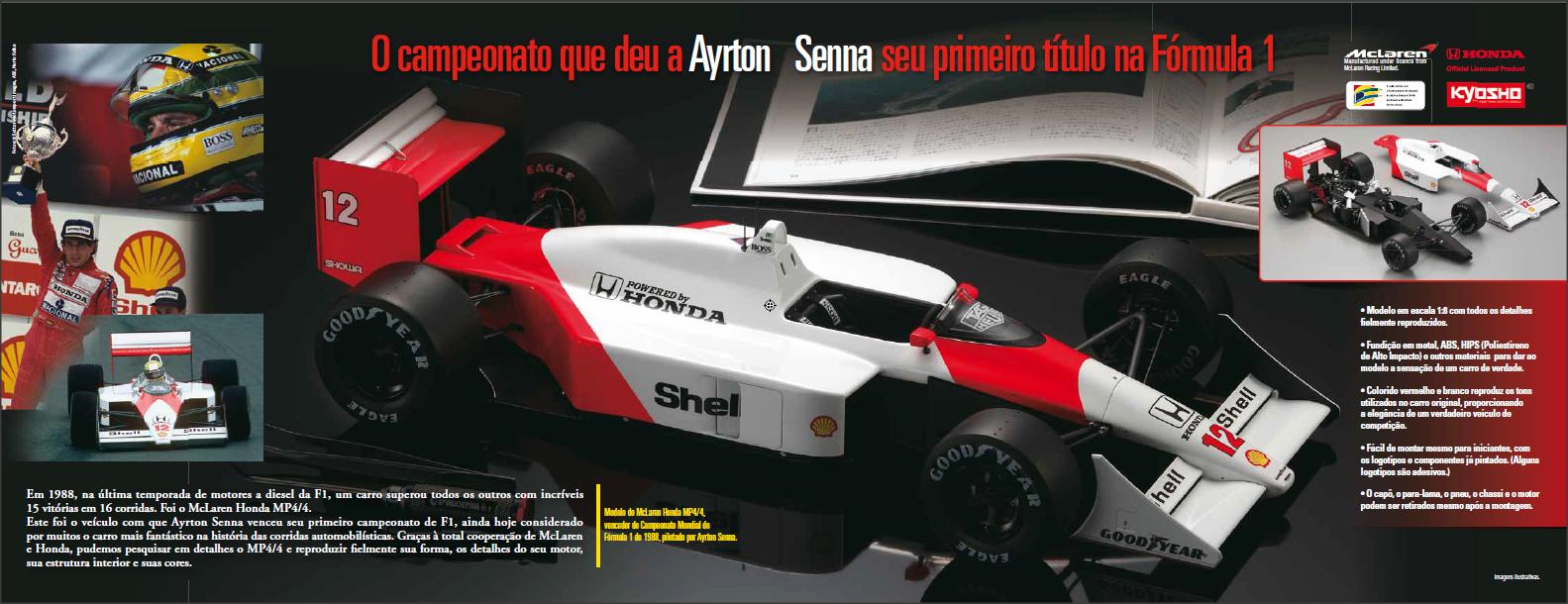 Ayrton Senna McLaren Planeta DeAgostini