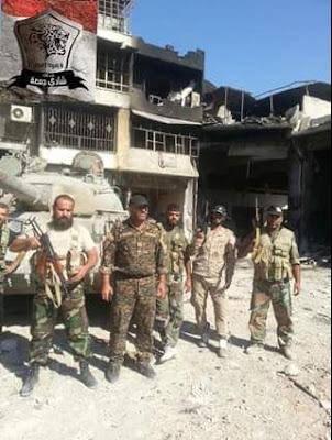 Άρμα μάχης της οργάνωσης «Λεοπαρδάλεις της Homs»