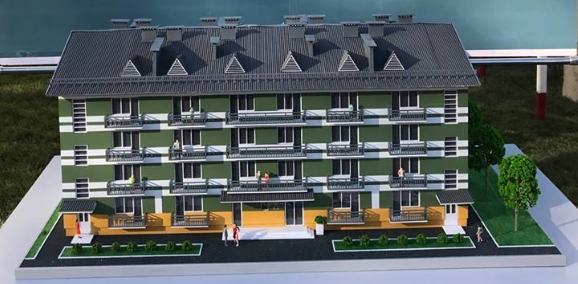 Розпочалось будівництво чотирнадцяти типових 54-х квартирних будинків для сержантського складу