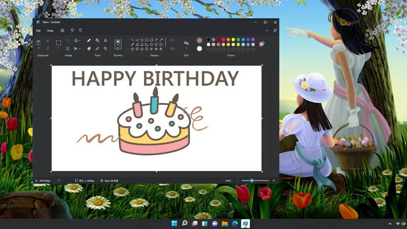 MS Paint is getting a makeover on Windows 11