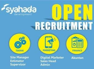 Open Recruitment Syahada Development