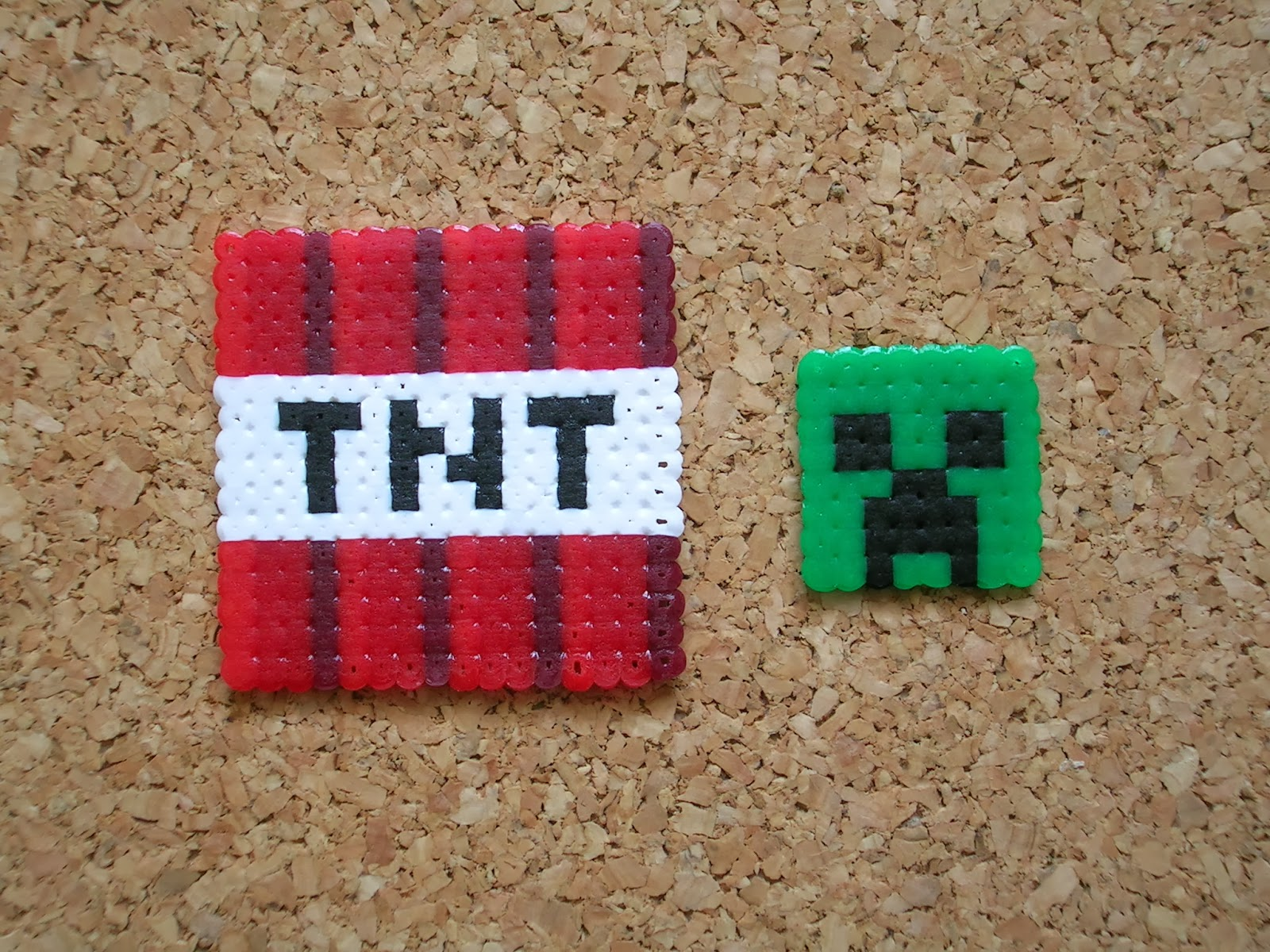 Hama beads minecraft tnt song
