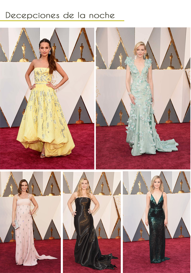 red carpet oscars 2016