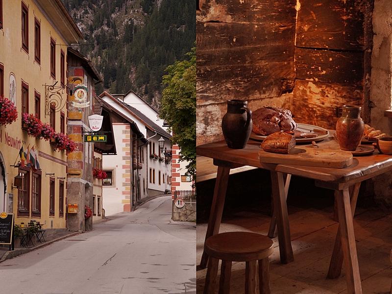 Urlaub im Lungau, Österreich, im September: Dorf und Burg Mauterndorf besichtigen