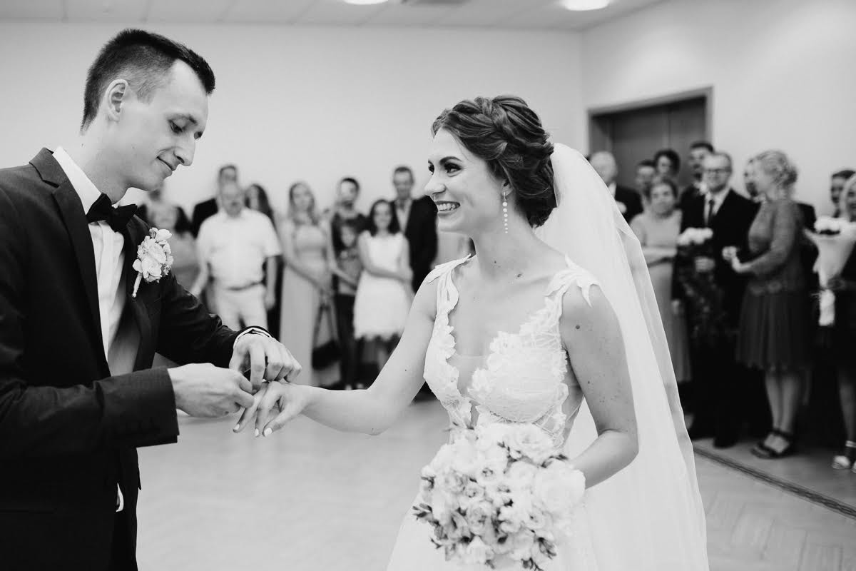 kāzu ceremonija Rīgas zagsā
