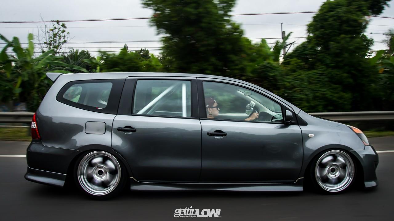 Modifikasi Mobil Ceper Nissan Grand Livina Gray Metallic Alul Stemaku