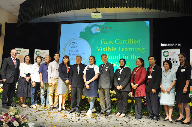 Congratulations again to the Australian International School Malaysia (AISM) for being the First Certified Visible Learning School In The World