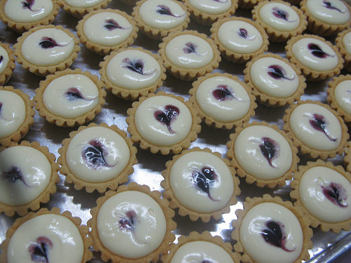 Resipi Blueberry Cheese Tart