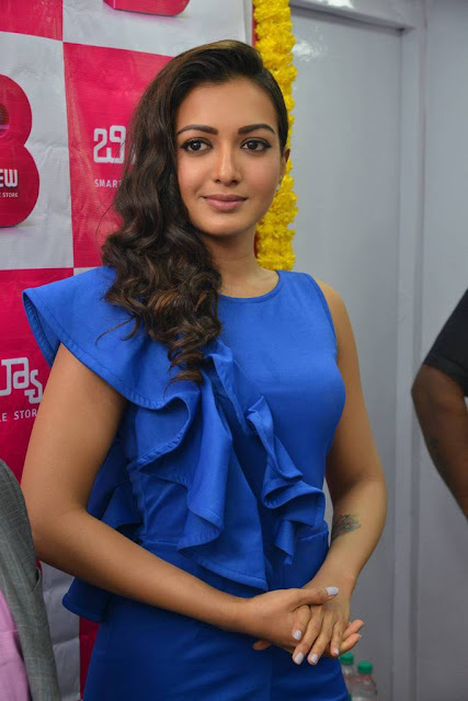 Catherine Tresa Stills At B New Mobile Store Launch At Eluru