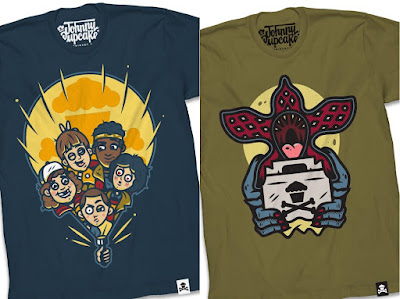 Stranger Things Season 2 T-Shirt Collection by Johnny Cupcakes