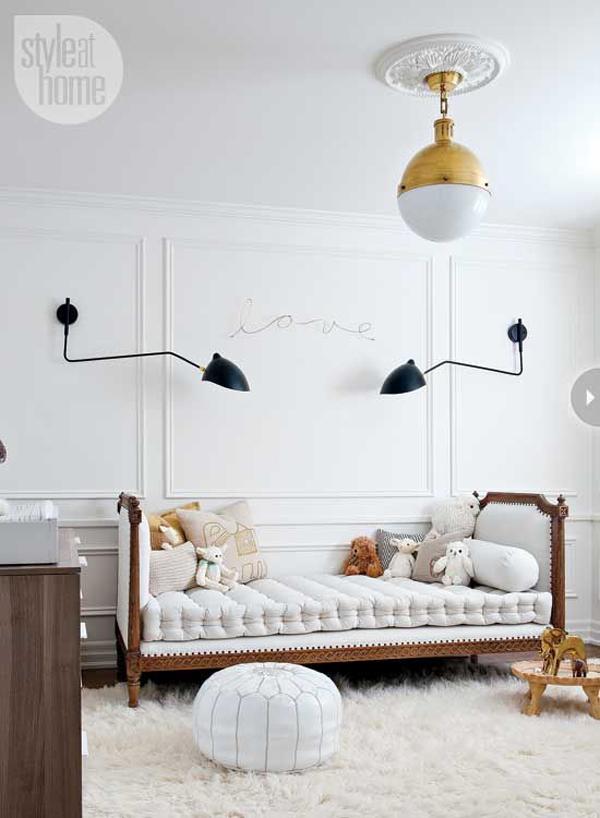 The Peak of Très Chic: Modern & Sweet Nursery Design