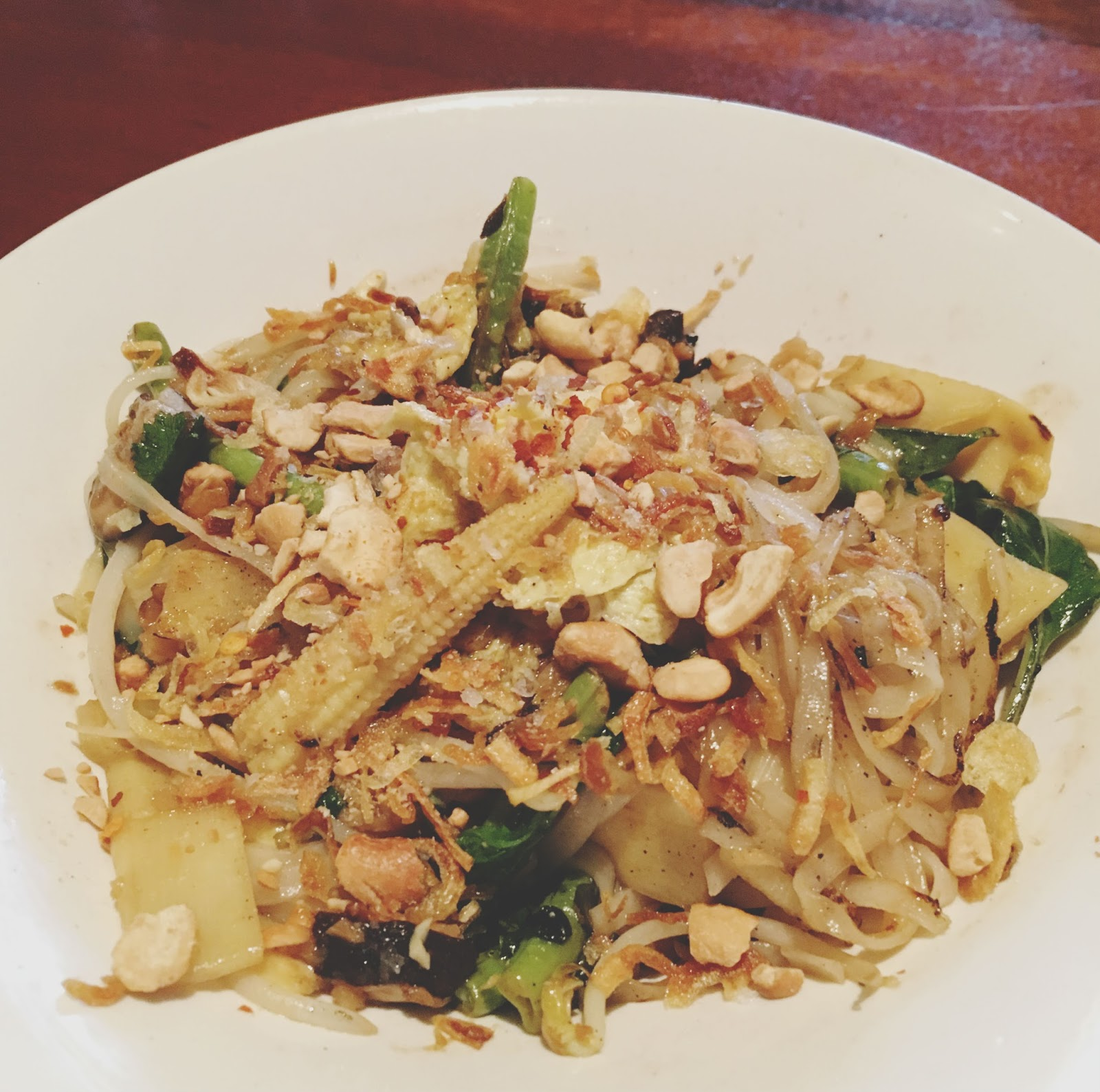 pad thai jay at Sway - a Thai restaurant in Austin, Texas
