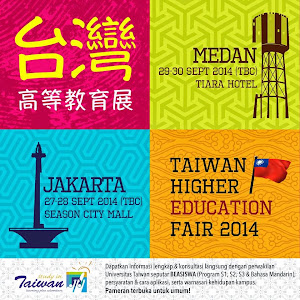 TAIWAN HIGHER EDUCATION FAIR 2014 IN INDONESIA