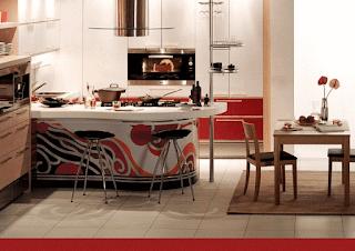 foto interior dapur sederhana