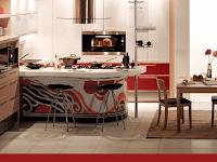 Desain Interior Dapur Sederhana Berdekorasi Modern