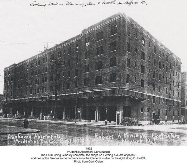 Newark N.J. 1970s: Prudential Apartments AKA Sing-Sing