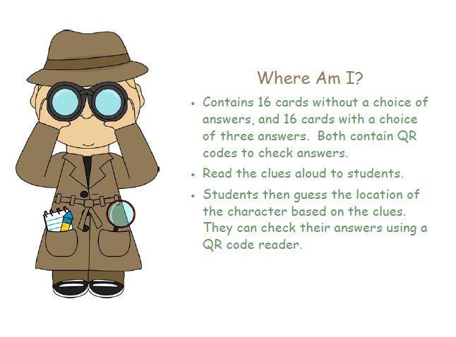 Secret Code Inferences- Using QR codes
