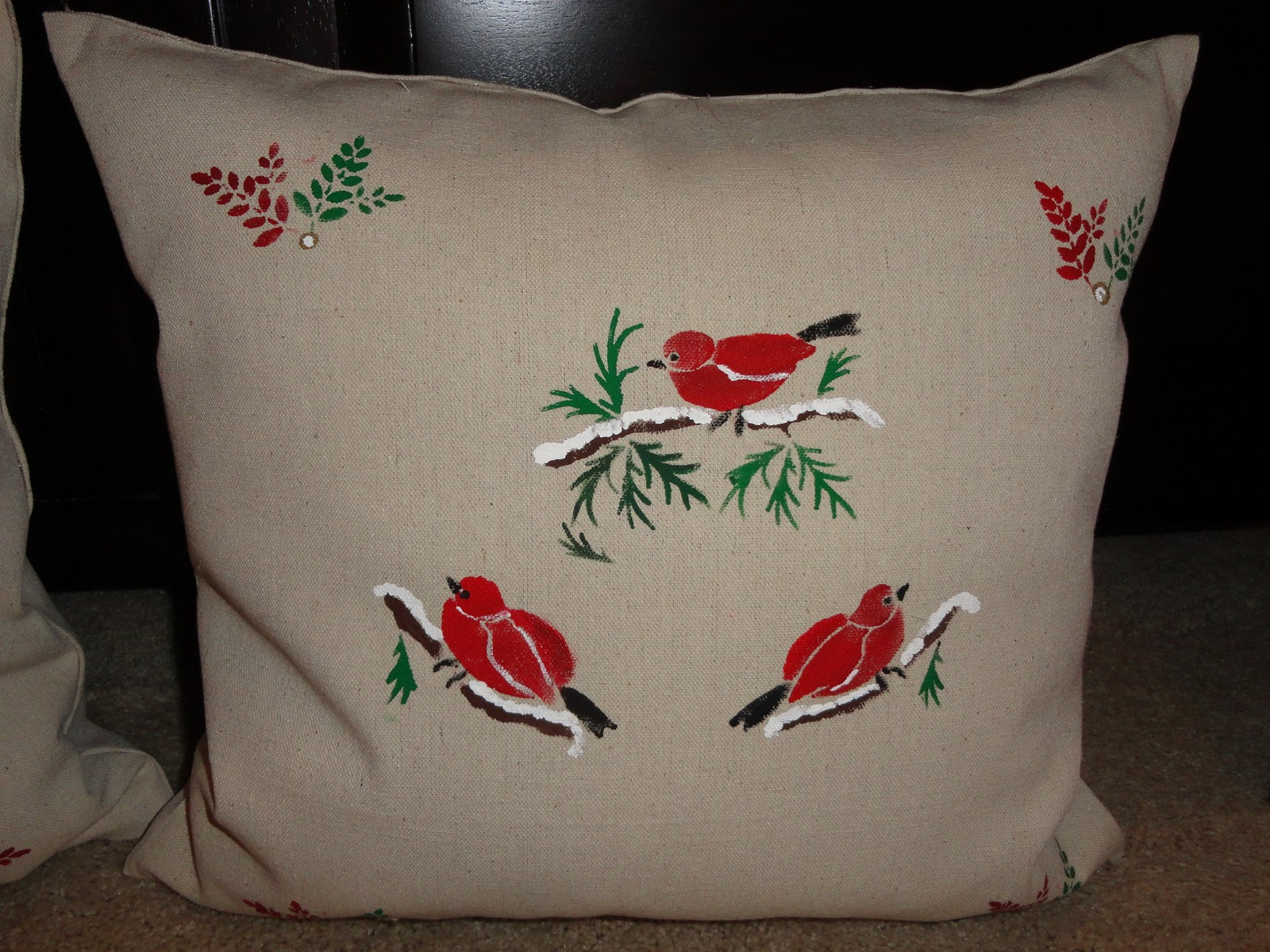 Our Home Away From Home Diy Christmas Pillows