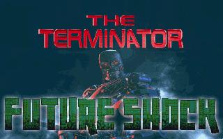 The Terminator Future Shock PC MS DOS Title Screen