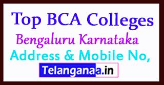 Top BCA Colleges in Bengaluru Karnataka