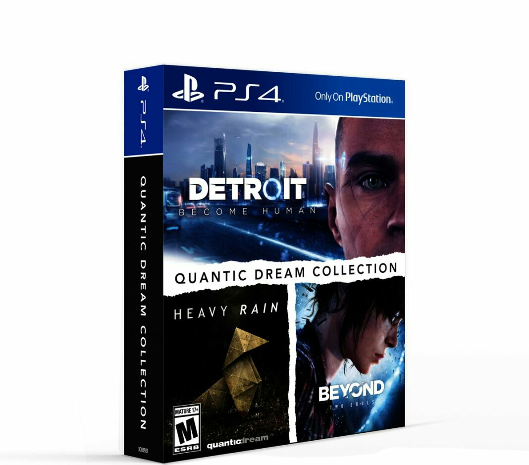 Quantic Dream collection with three games for playstation 4