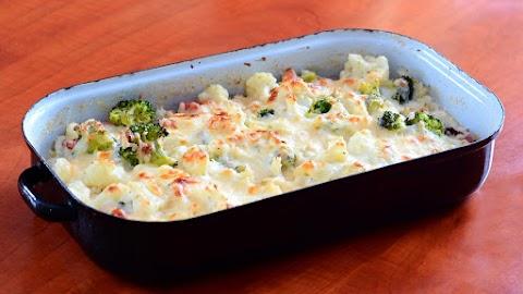 Brokkolis, karfiolos zöldségrakott: sokáig eltelít, finom, és nagyon egészséges