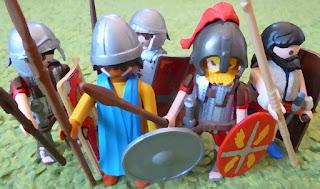 Fremdländische Soldaten Roms: auxilia et peregrini
