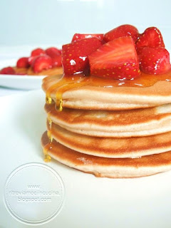 Ricetta Pancake Con Bicarbonato.Pancake Senza Uova Ricetta Originale Americana