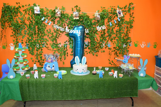 somebunny, bunny birthday, first birthday, first birthday party