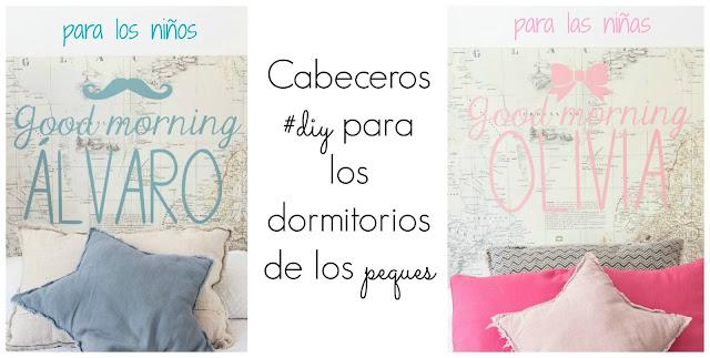 4 TIPOS DE CABECEROS DIY INFANTILES