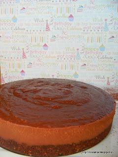 Υπέροχη ωμοφαγική τάρτα σοκολάτας