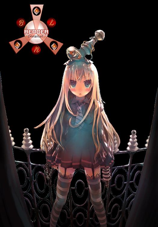 render girl