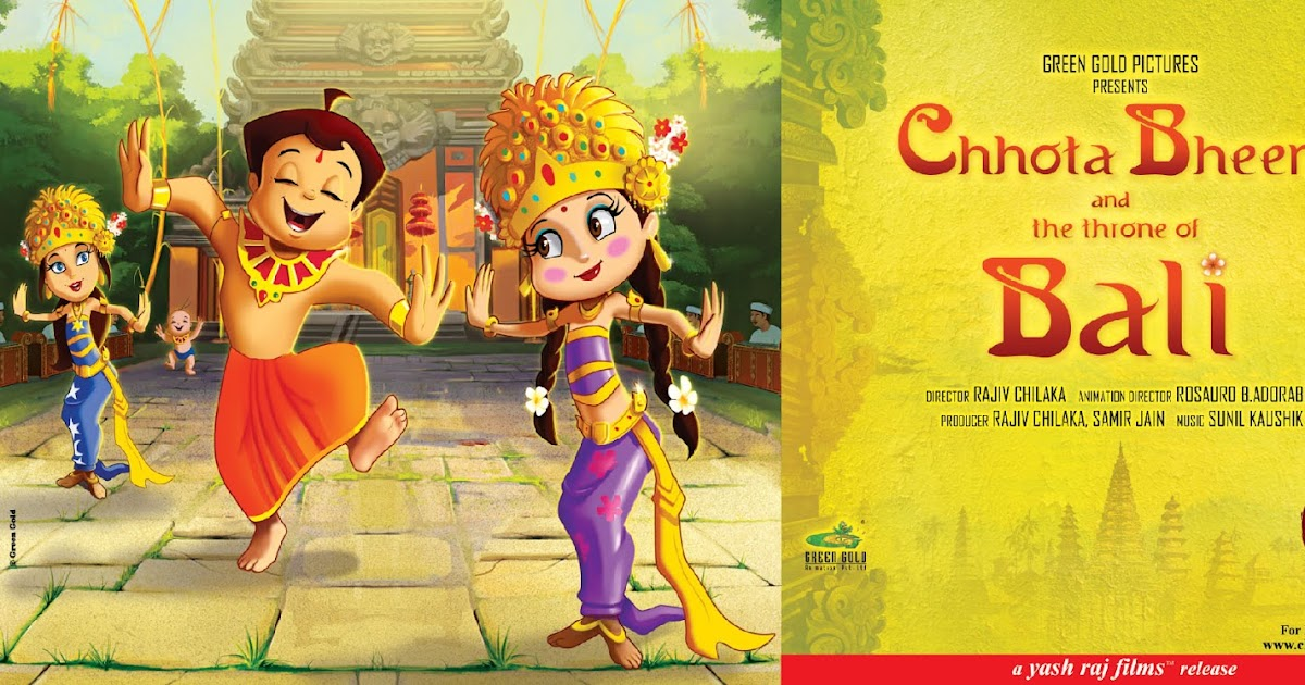 Chhota Bheem And The Throne Of Bali Wallpapers