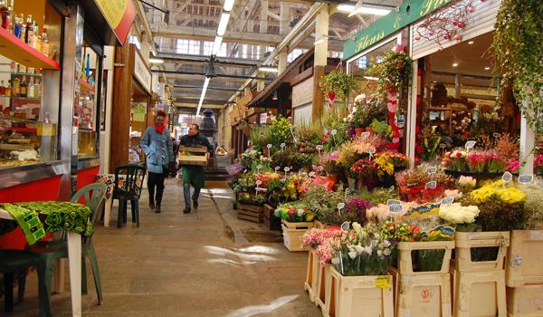 Mercado Marché d'Aligre em Paris