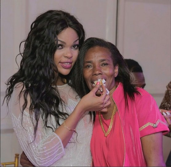 Image result for diamonds mother and wema sepetu