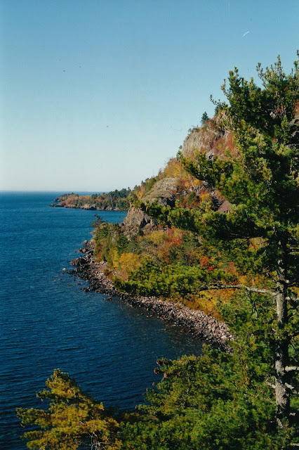 Image result for Lake superior south shore in autumn pictures