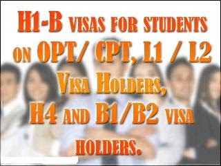 H1B/H2B Visa ~ F1-OPT Graduates Career Fair