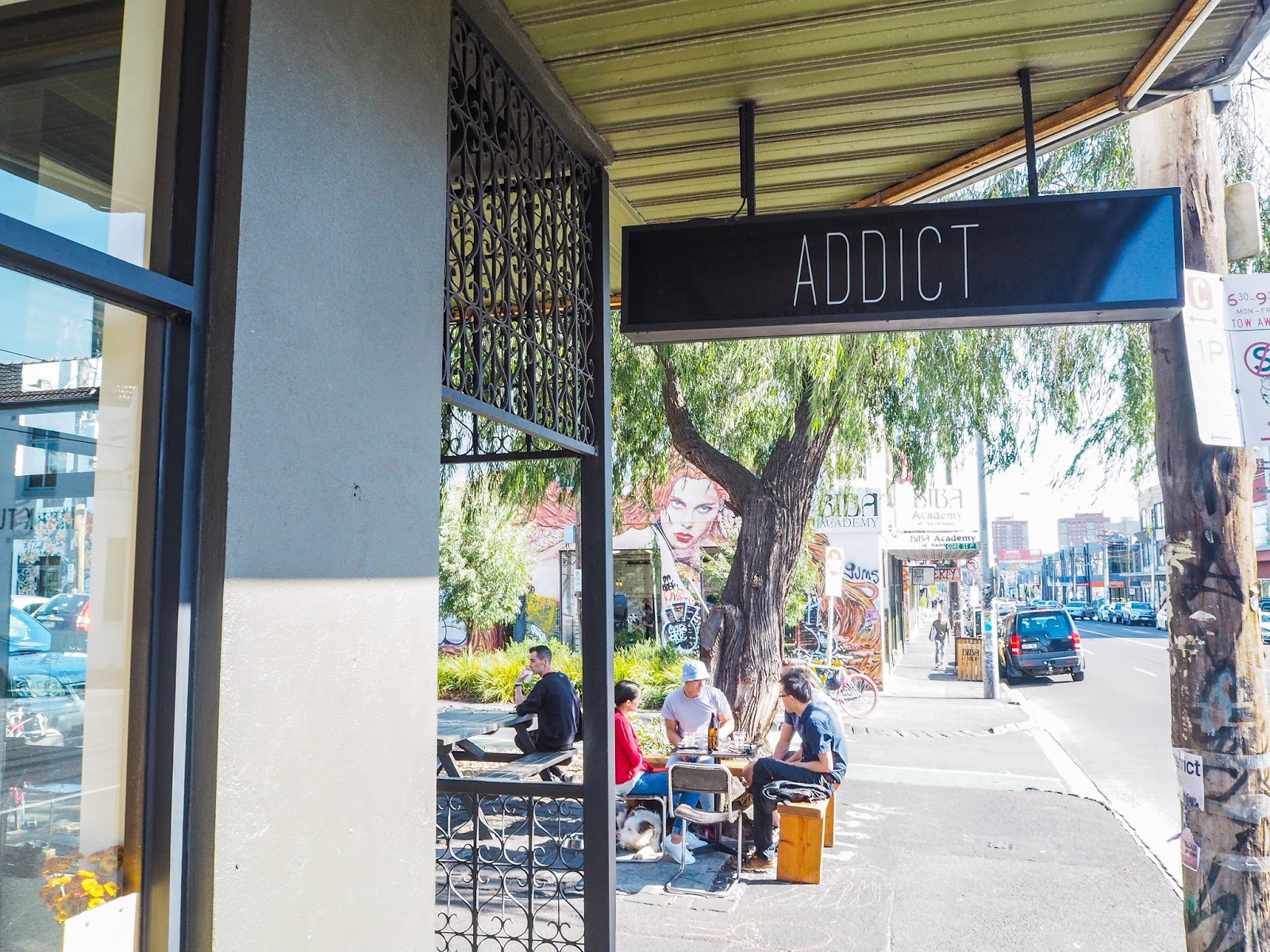 Addict coffee shop, Melbourne