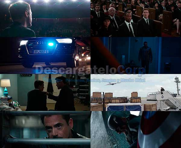 Capitan America Civil War DVDRip Español Latino