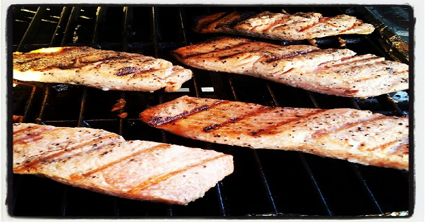 Lemon Marinated Grilled Salmon Recipe