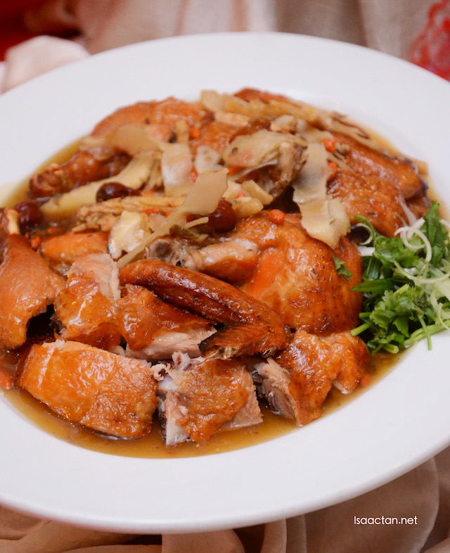 Roasted Chicken with Chinese Herbal