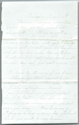 Heirlooms Reunited: c1870s Letters to Lovina A. (Hodgkins