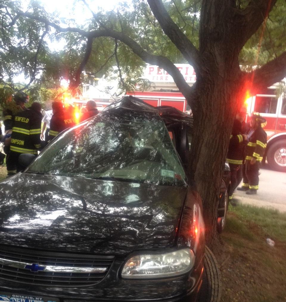 Car Crash  Penfield Ny May